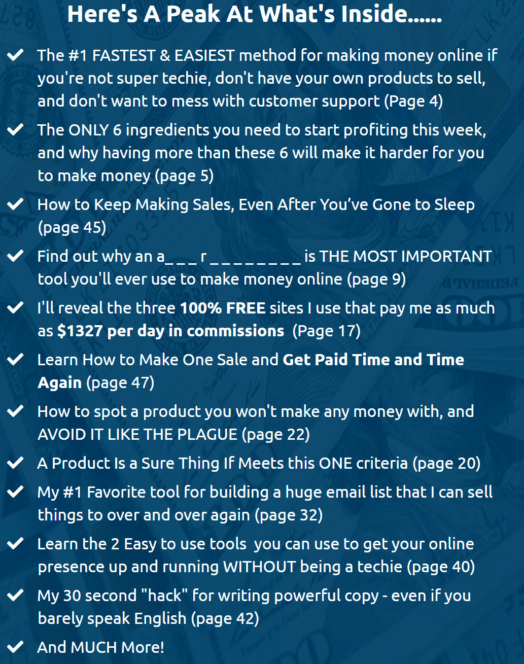 The Daily Commissions Blueprint