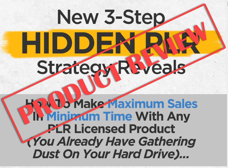 Hidden PLR Review